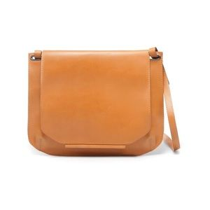 Zara Leather Crossbody Bag